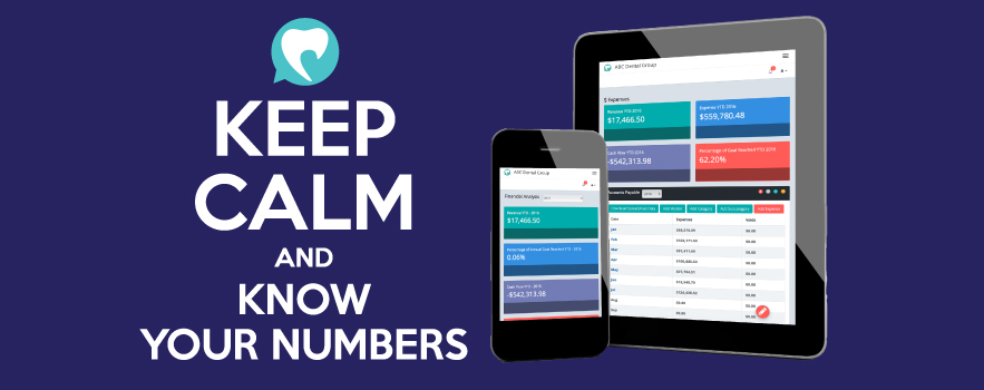 <strong>KEEP CALM & KNOW YOUR NUMBERS</strong>
